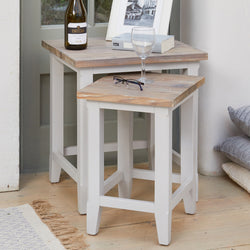 Ridley Grey Nest of Two Tables - The Orchard Home and Gifts