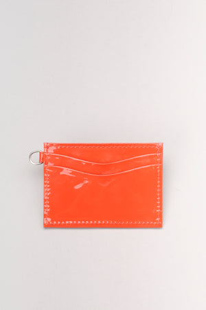 Penia 5 Slot Card Holder - Coral