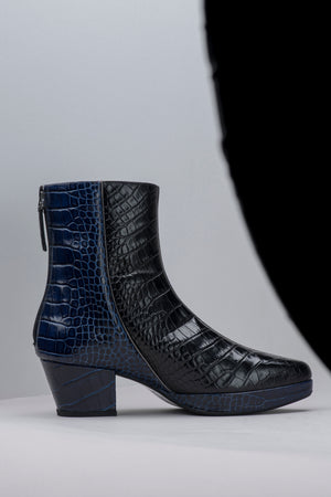 Nighttime Croco - Blue/Black