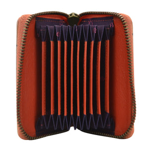 Accordion Style Credit And Business Card Holder - 1110