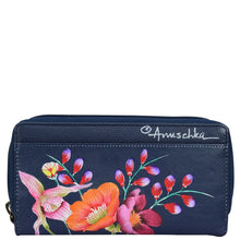 Load image into Gallery viewer, Zip Around Clutch Wallet With Front Organizer - 1120