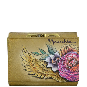 RFID Blocking Small Flap French Wallet - 1138