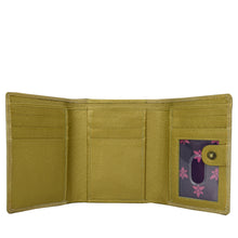 Load image into Gallery viewer, RFID Blocking Small Flap French Wallet - 1138