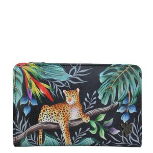 Two-Fold Small Organizer Wallet - 1166