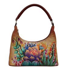 Load image into Gallery viewer, Medium Zip Top Hobo - 371