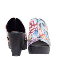 Load image into Gallery viewer, ANAYA PRINTED LEATHER COMFORT SLIDE - 4203