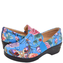 Load image into Gallery viewer, LUCY PRINTED LEATHER SLIP-ON CLOG - 4235