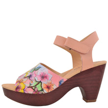 Load image into Gallery viewer, KERRI PRINTED LEATHER SLING BACK SANDAL - 4236