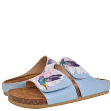 Load image into Gallery viewer, ASHLEY PRINTED LEATHER SANDAL - 4238