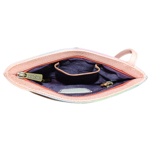 Slim Crossbody With Front Zip - 452
