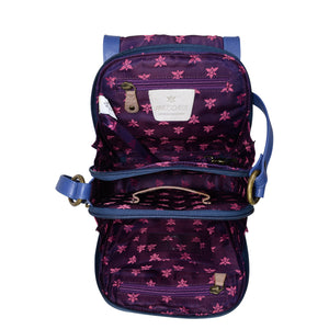 Triple Compartment Crossbody Organizer - 483