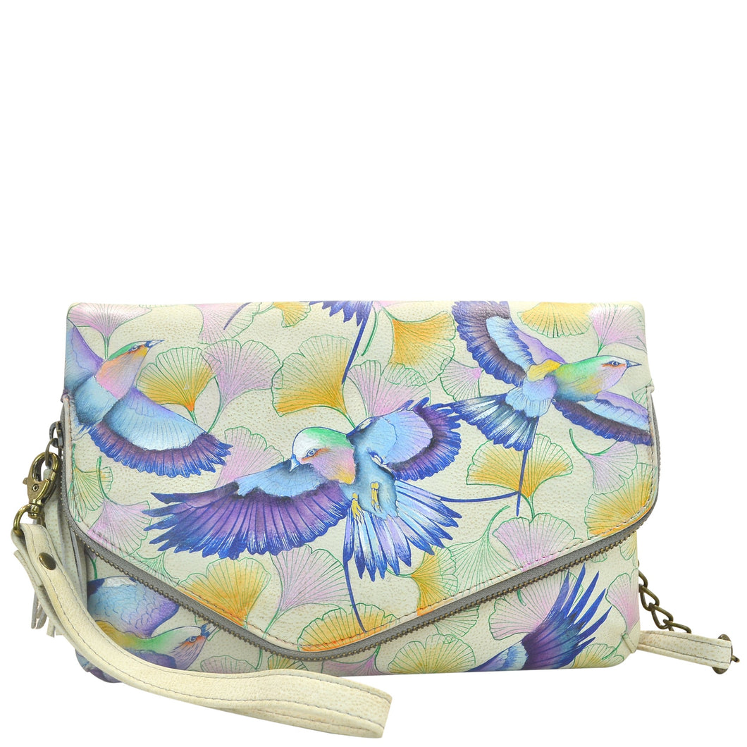 Convertible Envelope Clutch Wristlet - 607