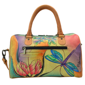 Zip Around Satchel - 8039