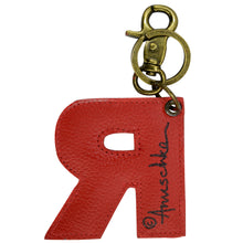 Load image into Gallery viewer, Painted Leather Bag Charm - K000R
