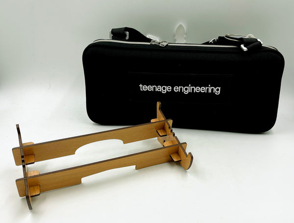 Exclusive OP-1 Accessory Bundle - Teenage Engineering Protective Soft Case plus OP-1 Stand
