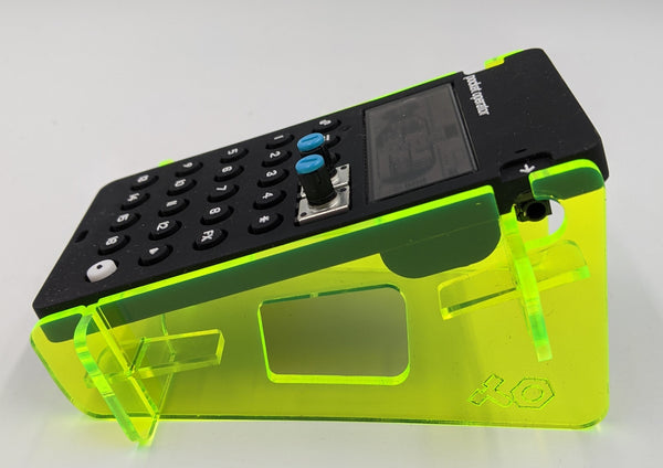 Pocket Operator Stand - Single - Acrylic colors - for all Teenage Engineering PO models