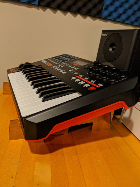 Angled Desktop Stand for Midi-Keyboards, and other Music Devices like Mixers, Ableton Push