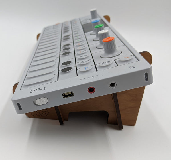 OP-1 Angled Desktop Stand - for Teenage Engineering OP-1 Synthesizer / Sequencer Device