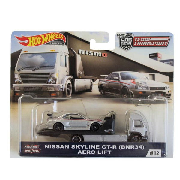Hot Wheels Car Culture Team Transport - Nissan Skyline GT-R BNR34