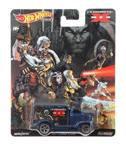 Hot Wheels X Men - 49 Ford Code