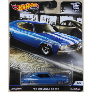 Hot Wheels Cruise Boulevard - 69 Chevelle SS 396