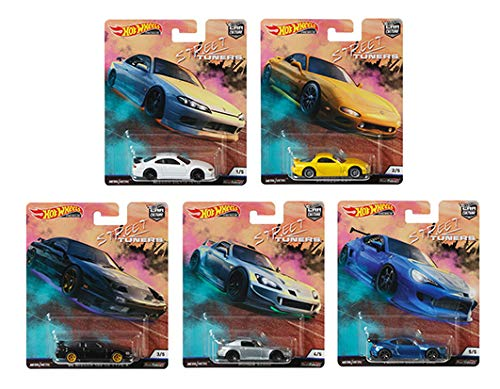 Hot Wheels 2019 Car Culture Street Tuners Series Set of 5