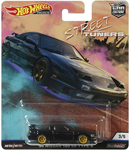 Hot Wheels Car Culture Street Tuners - 96 Nissan 180sx Type X
