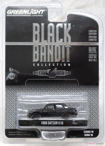 Greenlight 1968 Datsun 510 Black Bandit Collection