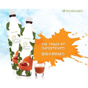 Pharmanex G3 Juice 2 Bottles Package