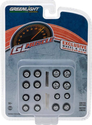 Greenlight GL Muscle Exclusive Wheel & Tire