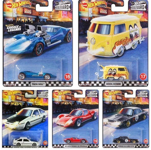 Hot wheels Boulevard series Mix D (1 Case of 10 Cars)