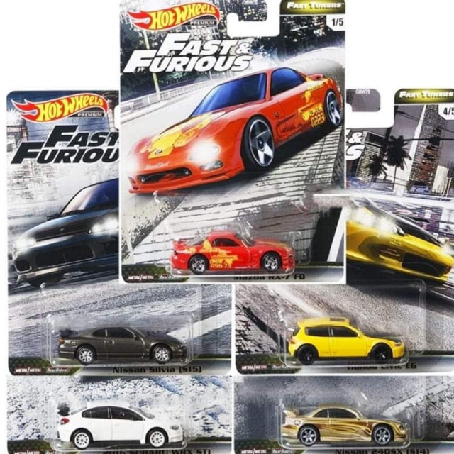 Hot Wheels Fast & Furious Fast Tuners ( 1 Case of 10 cars)