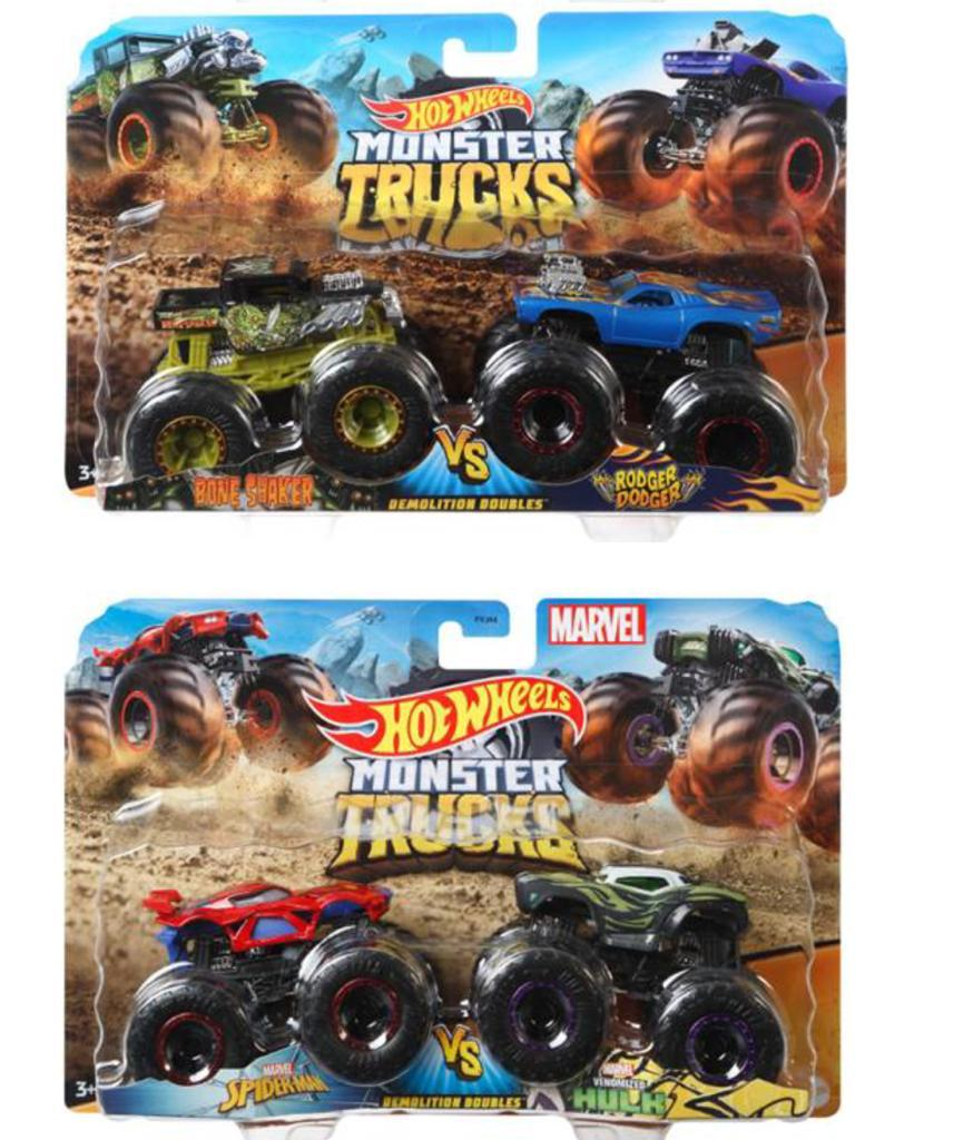 HOT WHEELS Monsters Truck Dash M FY64