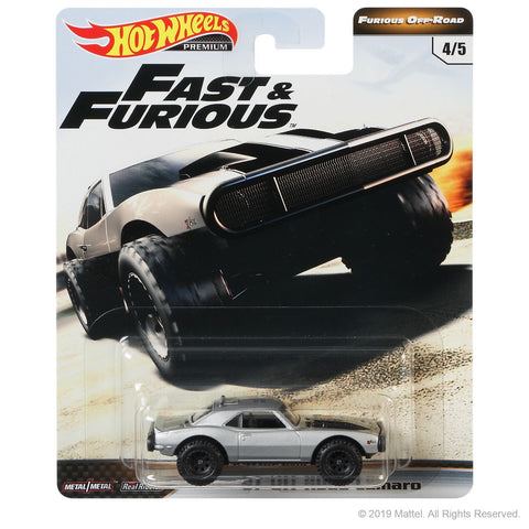 Hot Wheels Fast & Furious (Furious Off-Road) - 67 Off Road Camaro