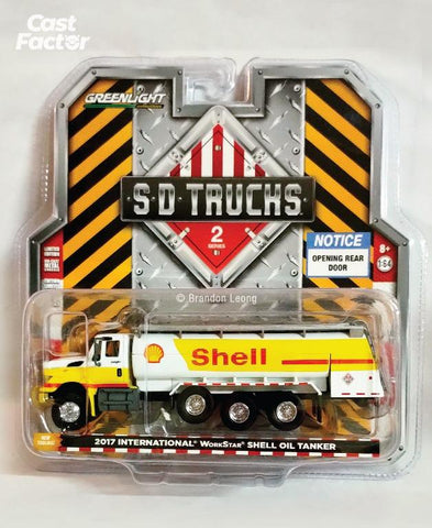 Greenlight SD Trucks 2017 International Shell Oil Tanker