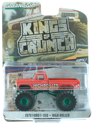 Greenlight Kings of Crunch 1979 Ford F-350 - High Roller