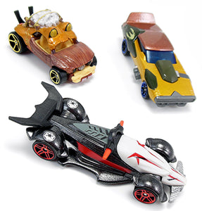 5 units of Hot Wheels Random Mix