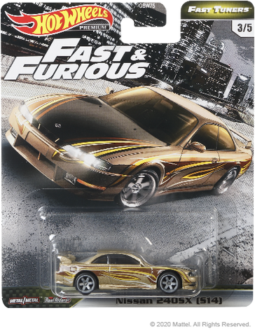 Hot Wheels Fast & Furious Fast Tuners - Nissan 240sx (S14)