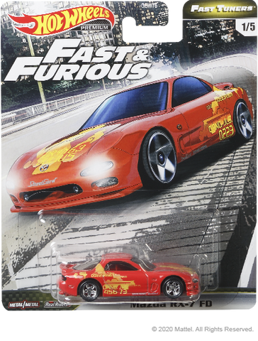 Hot Wheels Fast & Furious Fast Tuners - Mazda RX-7 FD