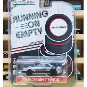 Greenlight Running On Empty 2001 Nissan Skyline GT-R