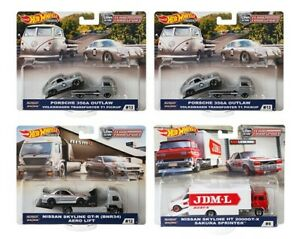 Hot Wheels Team Transport Mix E (Case of 4 Cars)
