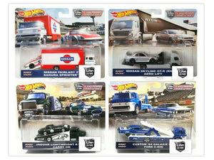 Hot Wheels Team Transport Mix F (Case of 4 Cars)