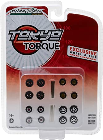 Greenlight Tokyo Torque Exclusive Wheel & Tire
