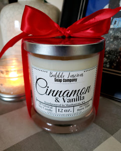 Cinnamon & Vanilla Boutique Candle
