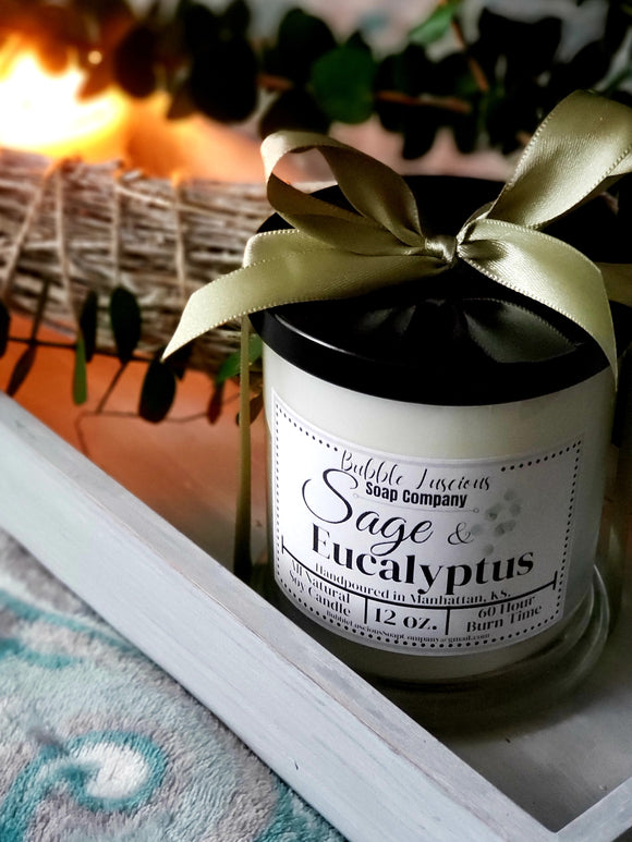 Sage & Eucalyptus Boutique Candle