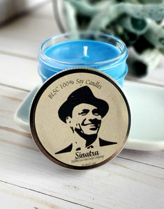Sinatra Soy Candle