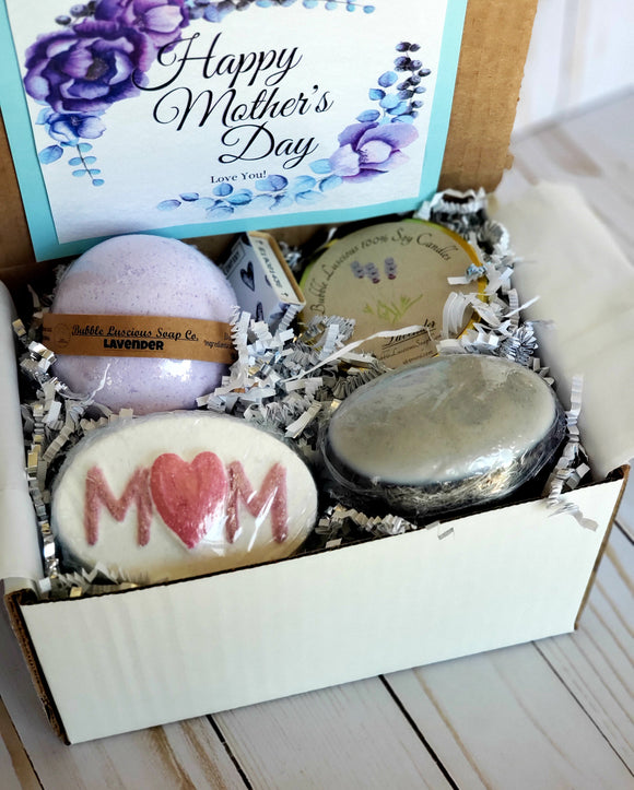 Mother's Day Mom Bomb Box- Lavender