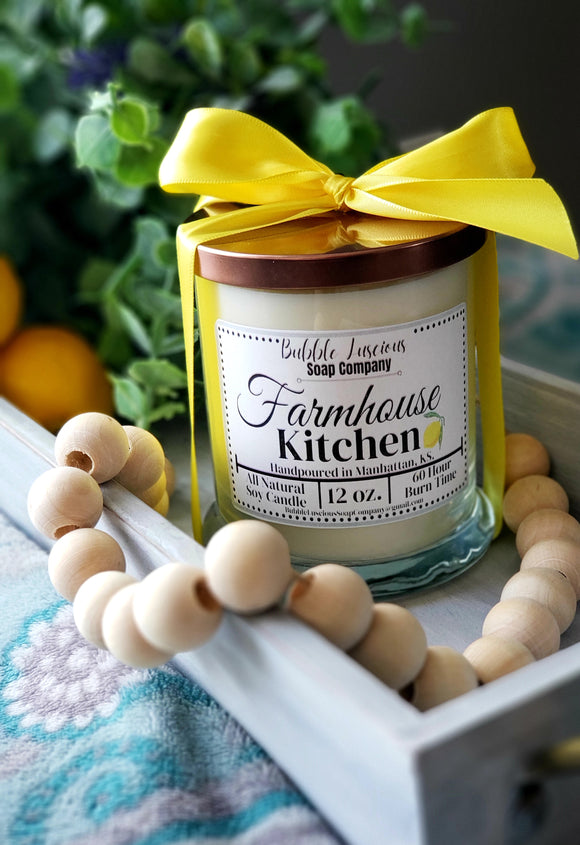 Farmhouse Kitchen Boutique Candle