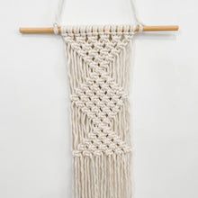 Load image into Gallery viewer, Small macrame wall hanging