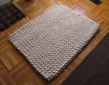 Load image into Gallery viewer, Pattern: Knit rope rug - digital download